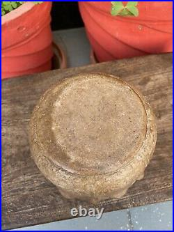 1800s Ancient Old Stone Hand Carved Lotus Fowler Shape Rare Bowl Pot