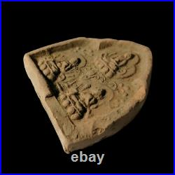 Ancient Chinese Liao Dynasty Ca 1000 AD Votive Buddha Tablet Rare Authentic COA